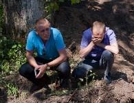 Останки бойцов в деревне Криволучье, Фото: 14