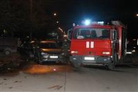 В Туле пьяный на Audi протаранил пять автомобилей, Фото: 8