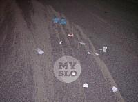 Крупное ДТП на ул. Металлургов в Туле: Nissan снес столб, пассажирку вышвырнуло из машины, Фото: 12