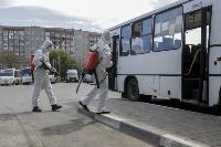 Тульские спасатели продезинфицировали автовокзал «Восточный», Фото: 24