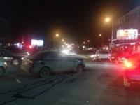 Аварии на перекрестке Красноармейского проспекта и ул. Фрунзе вечером 25 ноября, Фото: 6