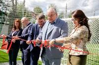 Открытие нового футбольного поля, Фото: 33