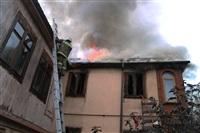 Пожар в доме по ул. Рабочий проезд. 27 сентября, Фото: 3