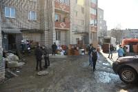 У дома, поврежденного взрывом в Ясногорске, демонтировали опасный угол стены, Фото: 28