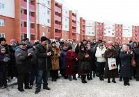 Вручение ключей от квартир в Туле на ул.Новоселов. 9.02.2015, Фото: 9