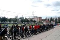 По центральным улицам Тулы прошел велопробег, Фото: 52