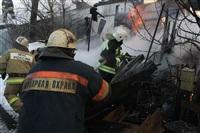 Пожар в жилом бараке, Щекино. 23 января 2014, Фото: 10