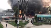 """Сгорел рынок """"Салют"""", Фото: 18"""