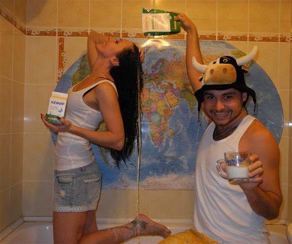 Молочные ванны - Кефирные берега!!!