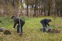 Высадка деревьев в Рогожинском парке, Фото: 8