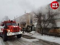 В Барсуках в двухэтажном доме загорелась квартира, Фото: 2