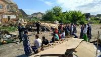 Демонтаж незаконных цыганских домов в Плеханово и Хрущево, Фото: 11