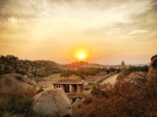 Закат над древней цивилизацией