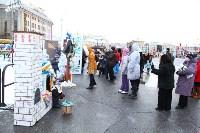 Арт-объекты на площади Ленина, 5.01.2015, Фото: 28