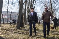 Субботник в Комсомольском парке с Владимиром Груздевым, 11.04.2014, Фото: 40