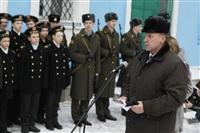 Никита Руднев-Варяжский, внук легендарного командира «Варяга» с визитом в Тульскую область, Фото: 25