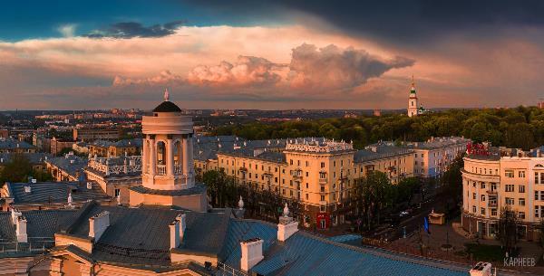 Перекресток ул. Первомайской и пр. Ленина