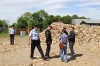 В Тульской области незаконно сжигали московский мусор, Фото: 37