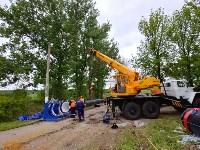 В Туле меняют аварийный участок трубы, из-за которого отключали воду в Пролетарском округе, Фото: 2