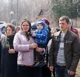 Храм в селе Ефремовского района обрел купол и крест, Фото: 7