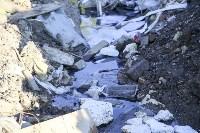 Незаконную свалку на берегу Тулицы спрятали под грудой земли, Фото: 27