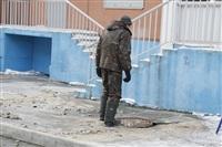 Прорыв водопровода на ул. Арсенальной. 22 января 2014, Фото: 5