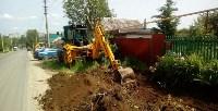 В Привокзальном округе Тулы выполняется ремонт тротуаров, Фото: 9