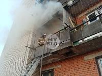 Пожар в общежитии на ул. Фучика, Фото: 19