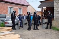 В Плеханово начали сносить дома в цыганском таборе, Фото: 41