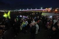 Шоу фонтанов на Упе. 9 мая 2014 года., Фото: 40