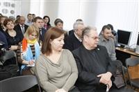 Пресс-конференция, посвященная реконструкции Тульского кремля. 11 марта 2014, Фото: 5