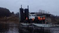 Монтаж моста в Архангельской области, Фото: 29