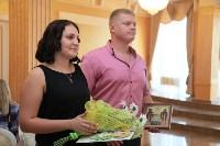 День семьи, любви и верности во Дворце бракосочетания. 8 июля 2015, Фото: 26