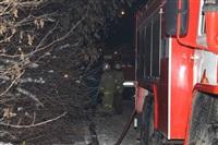 В пос. Менделеевский сгорел частный дом., Фото: 8