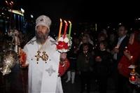 Пасхальная служба в Успенском соборе. 20.04.2014, Фото: 36