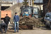 3200 кустов и деревьев высадили сегодня в Туле в ходе субботника, Фото: 18