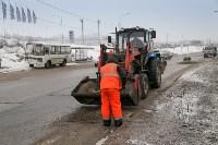 В Туле продолжается аварийно-восстановительный ремонт дорог, Фото: 4