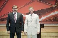 Алексей Дюмин наградил сотрудников «Тулачермета», Фото: 2