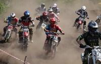 Юные мотоциклисты соревновались в мотокроссе в Новомосковске, Фото: 136
