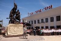 Открытие монумента и бронепоезда на Московском вокзале. 8 мая 2015 года, Фото: 43