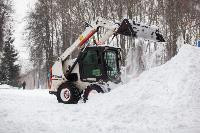 Последствия снежного циклона в Туле, Фото: 64