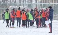 «Арсенал» готовится на снежном поле к игре против «Тосно», Фото: 26