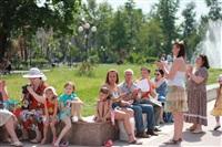 В Туле прошел флешмоб «Читающий парк», Фото: 26