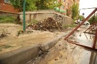Коммунальная авария на ул. Лейтейзена, Фото: 7