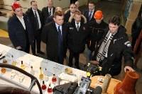 Врио губернатора Тульской области Алексей Дюмин посетил Алексинский химкомбинат, Фото: 9