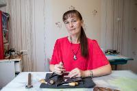 Тульская всечка: как мастерица создает уникальные украшения, Фото: 11
