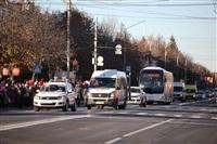 Третий этап эстафеты олимпийского огня: проспект Ленина, Фото: 6