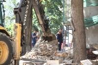 Груздев инспектирует строительство бассейна на Гоголевской. 3.08.2015, Фото: 6