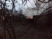 В Пролетарском районе сгорел дом, Фото: 6