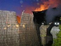 Пожар в Заокском районе, Фото: 1